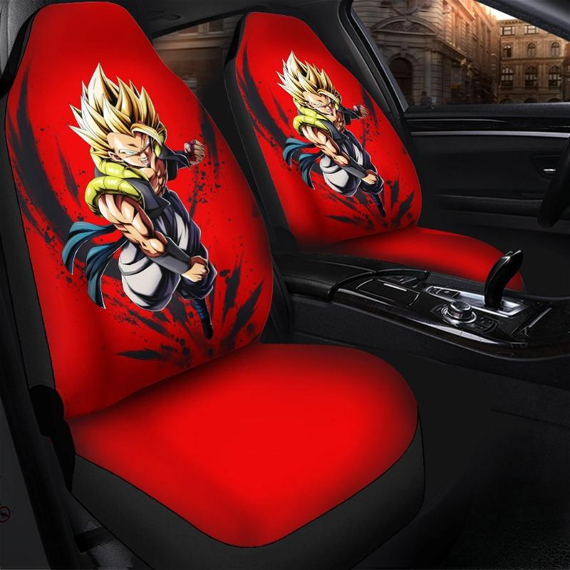 Gogeta Attack Dragon Ball Best Anime 2020 Car Seat Covers