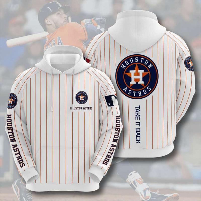 Houston Astros No782 Custom Hoodie 3D