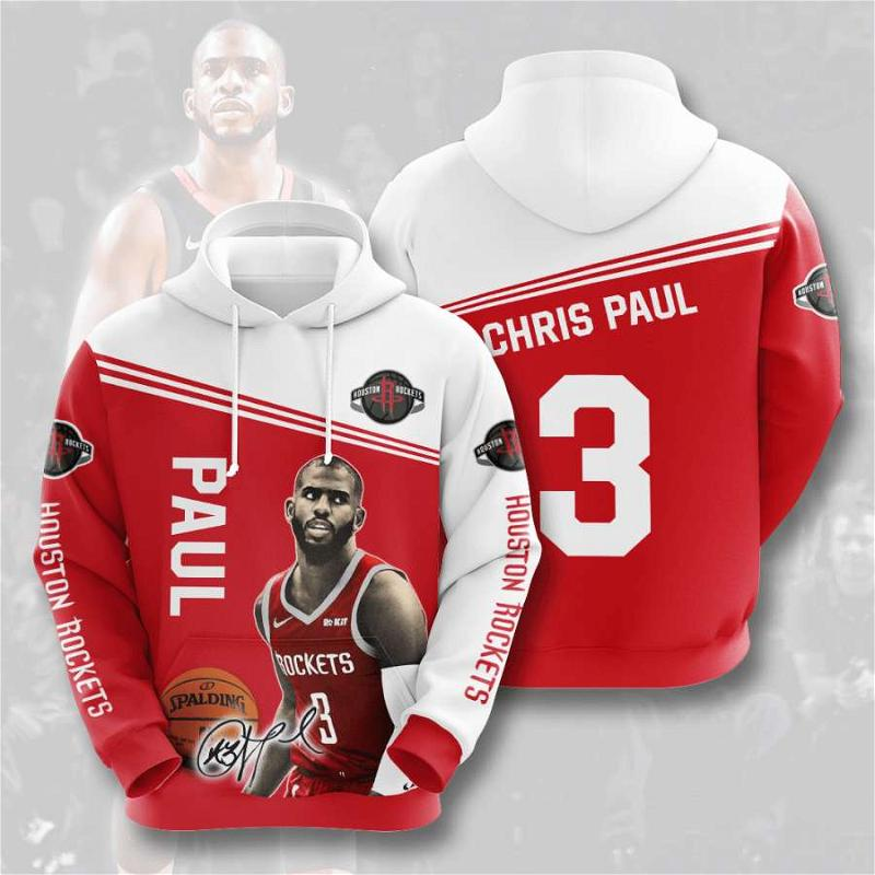 Houston Rockets No789 Custom Hoodie 3D