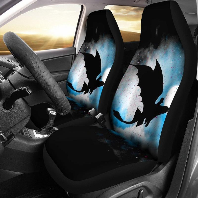 How To Train Your Dragon Shadows Cover Car Seat Covers
