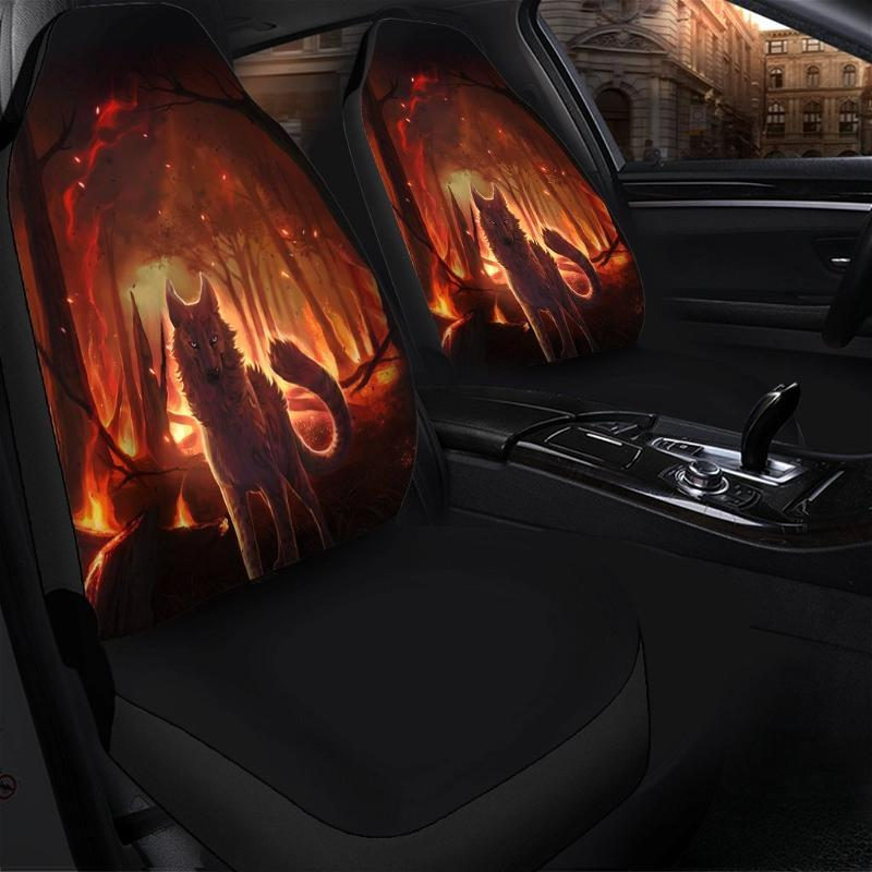 Hungry Flame Car Seat Covers