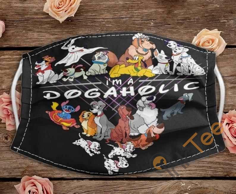 I'm A Dogaholic Dogs Lovers Handmade Anti Droplet Filter Cotton Face Mask
