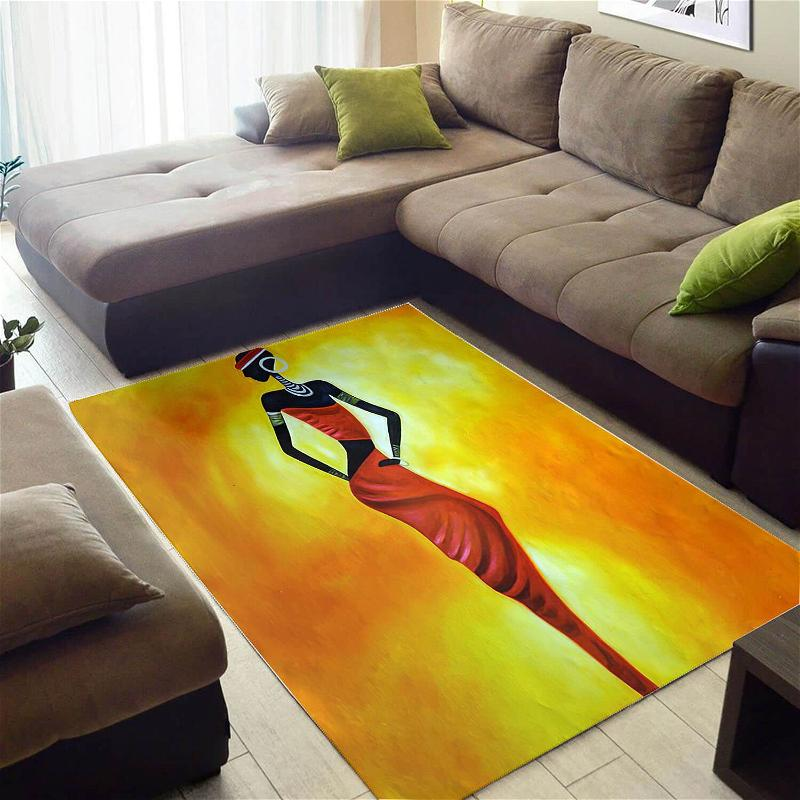 Inspired African American Cute Queen Large Style Rug