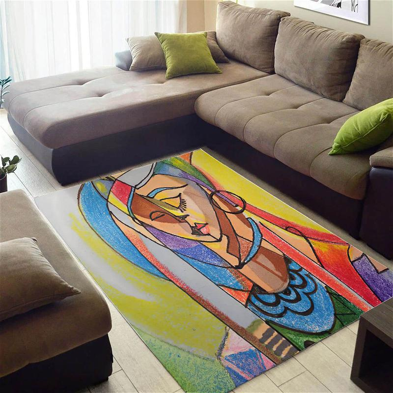 Inspired African Fancy Queen Large Style Rug