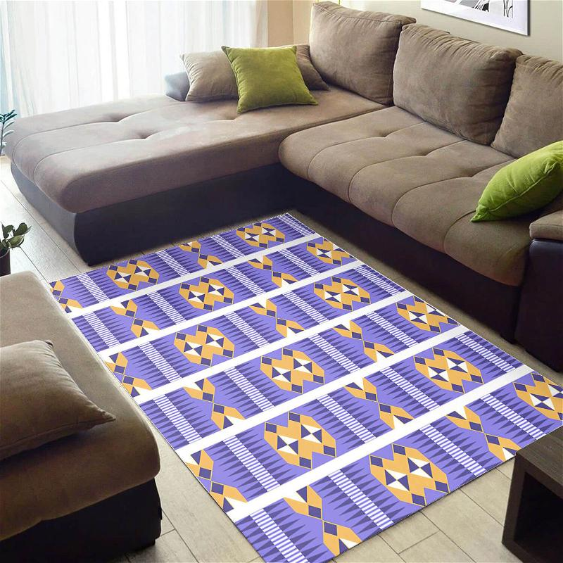 Inspired African Style Trendy Afro American Afrocentric Art Carpet Home Rug