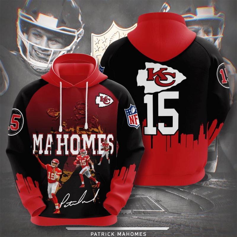 Kansas City Chiefs No909 Custom Hoodie 3D