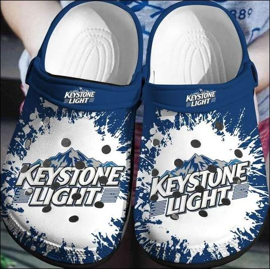 Keystone Light Crocs Clog Shoes