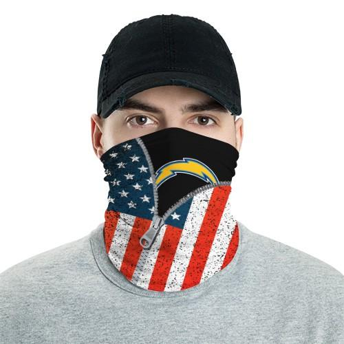 Los Angeles Chargers 6 Bandana Scarf Sports Neck Gaiter No3007 Face Mask