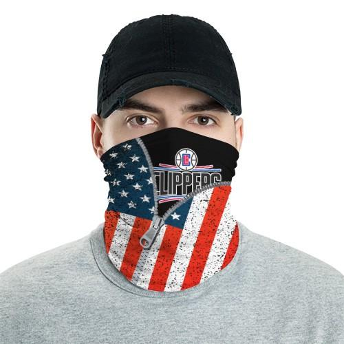 Los Angeles Clippers 6 Bandana Scarf Sports Neck Gaiter No3024 Face Mask