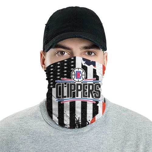 Los Angeles Clippers 9 Bandana Scarf Sports Neck Gaiter No3025 Face Mask