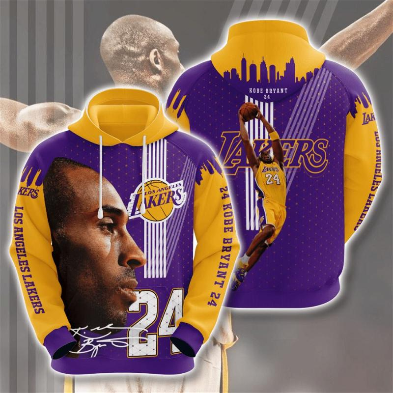 Los Angeles Lakers No1056 Custom Hoodie 3D