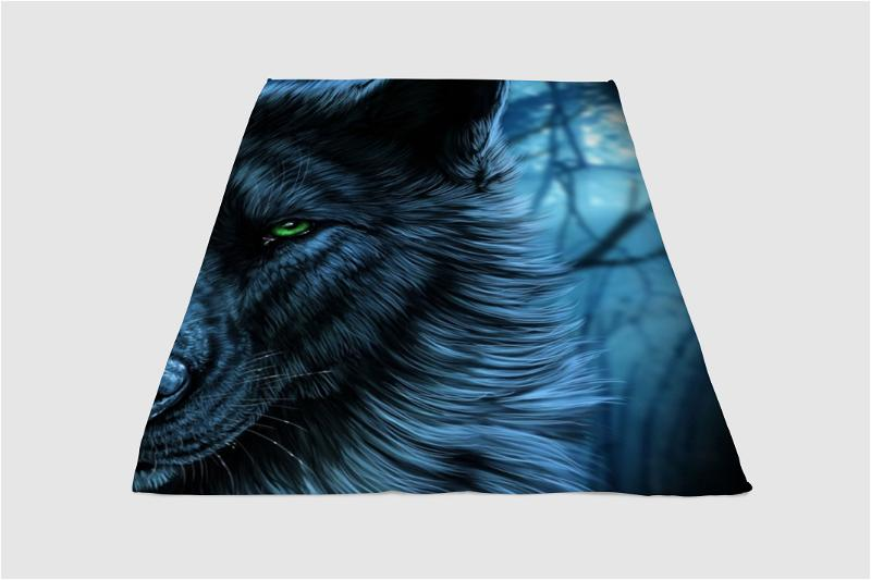 Mad Wolf Fleece Blanket