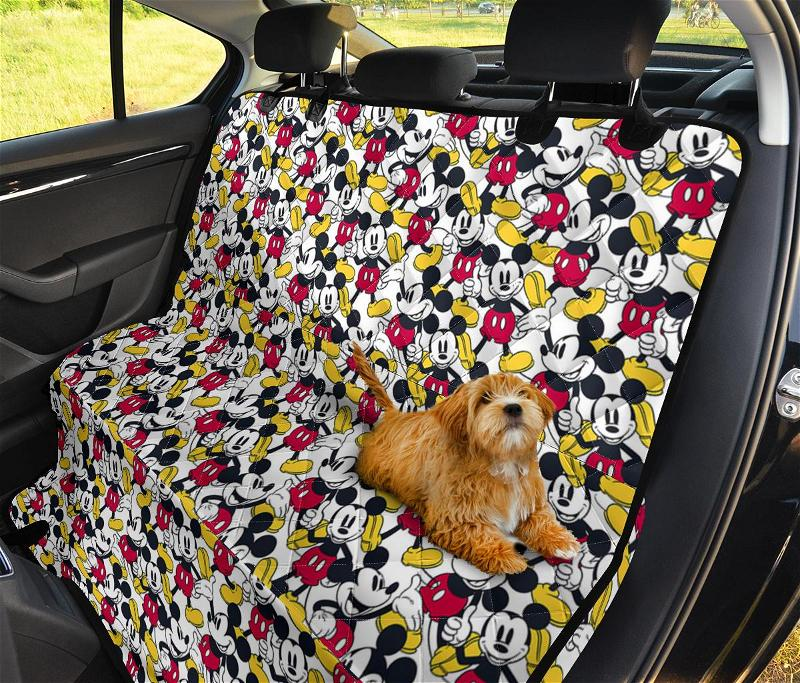 Mickey Pet Car Seat Covers
