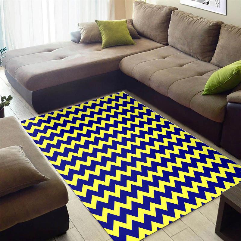 Modern African Nice Themed Afrocentric Pattern Art Living Room Rug