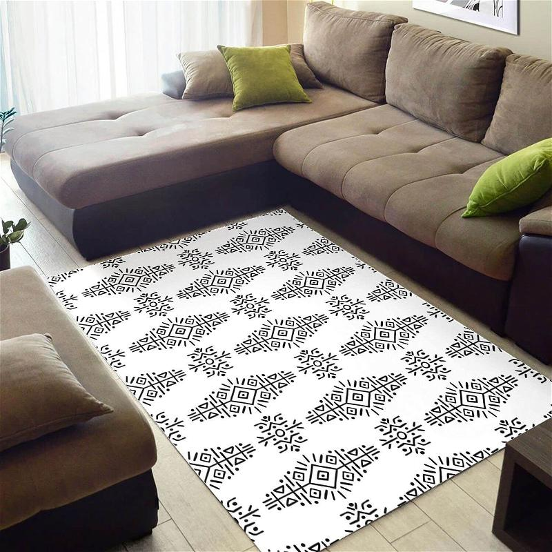 Modern African Perfect Inspired Seamless Pattern Style Floor Home Rug