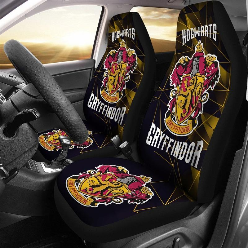 Movies Harry Potter Gryffindor Fan Gift Car Seat Covers