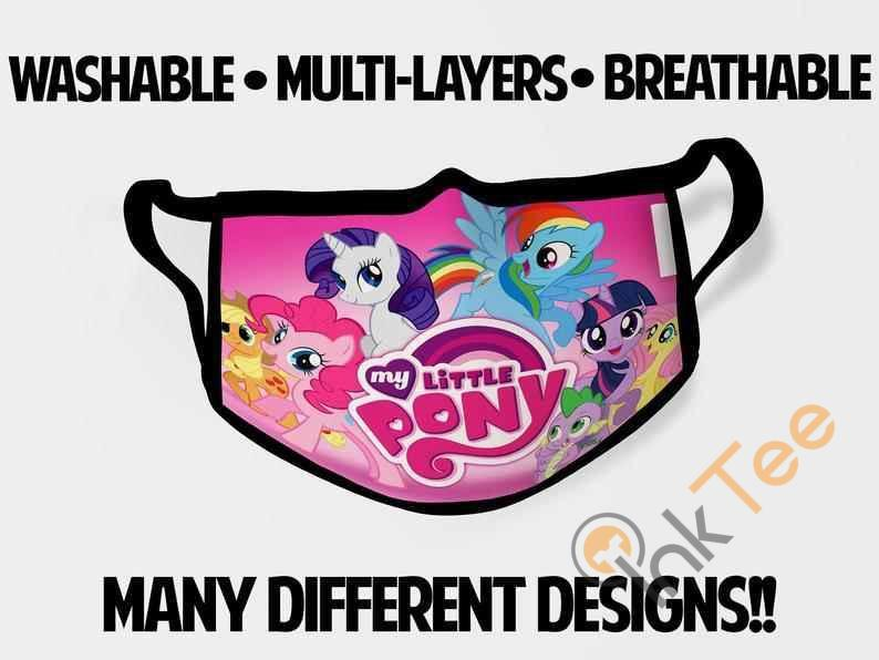 My Little Pony Childrens Kids Reusable 5063 Face Mask