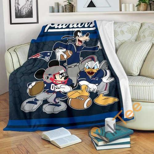 New England Patriots Team Fleece Blanket