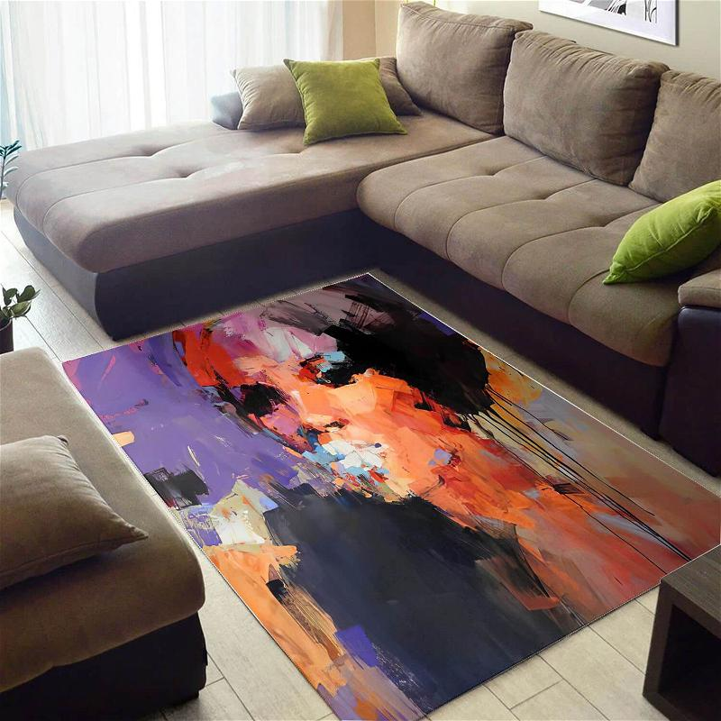 Nice African Pretty Queen Large Style Rug