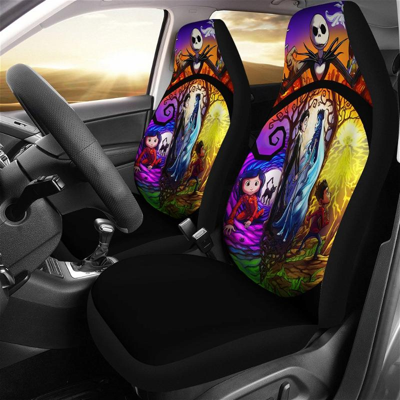 Nightmare Before Christmas Car Seat Covers