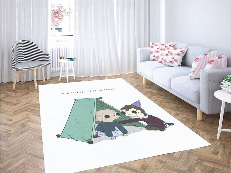 Our Friendship In Tents Summer Camp Island Carpet Rug