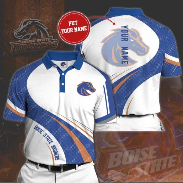 Personalized Boise State Broncos No73 Polo Shirt