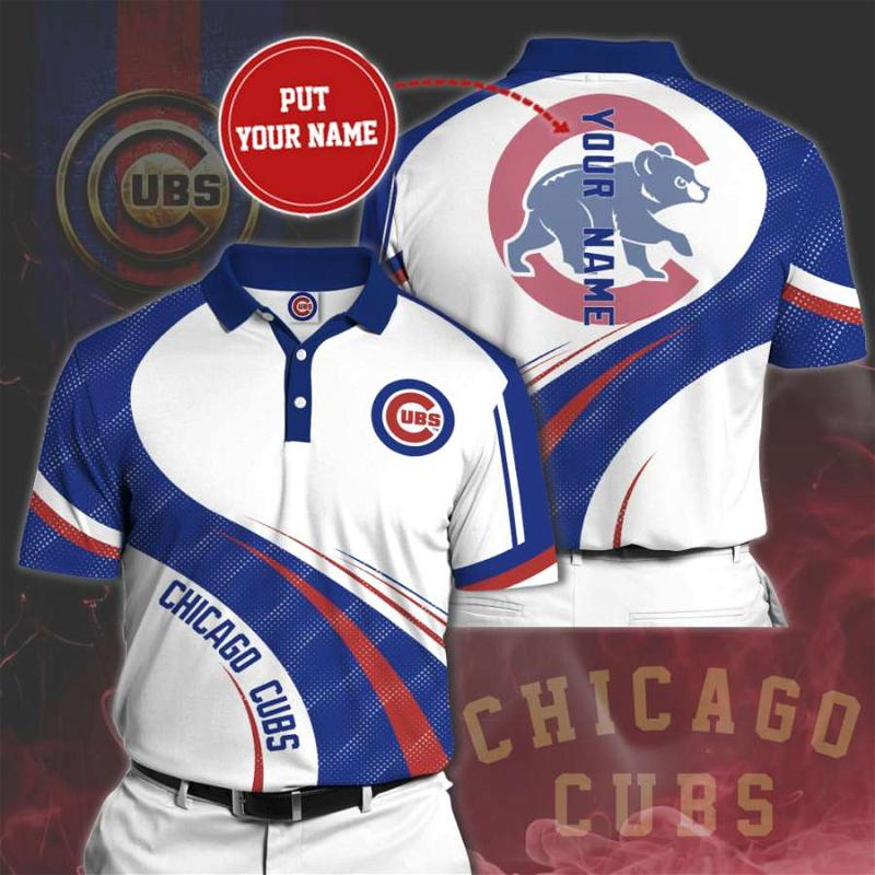 Personalized Chicago Cubs No78 Polo Shirt