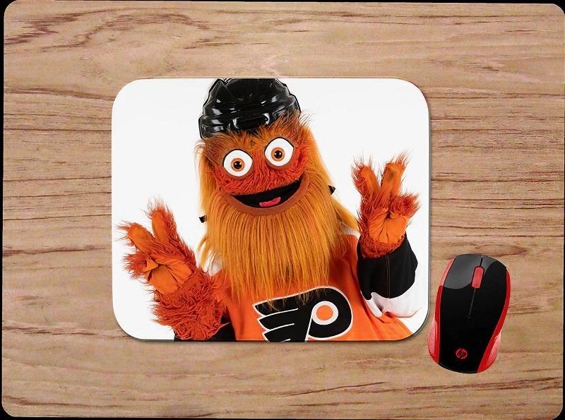 Philadelphia Flyers Gritty Peace Sign Mouse Pads