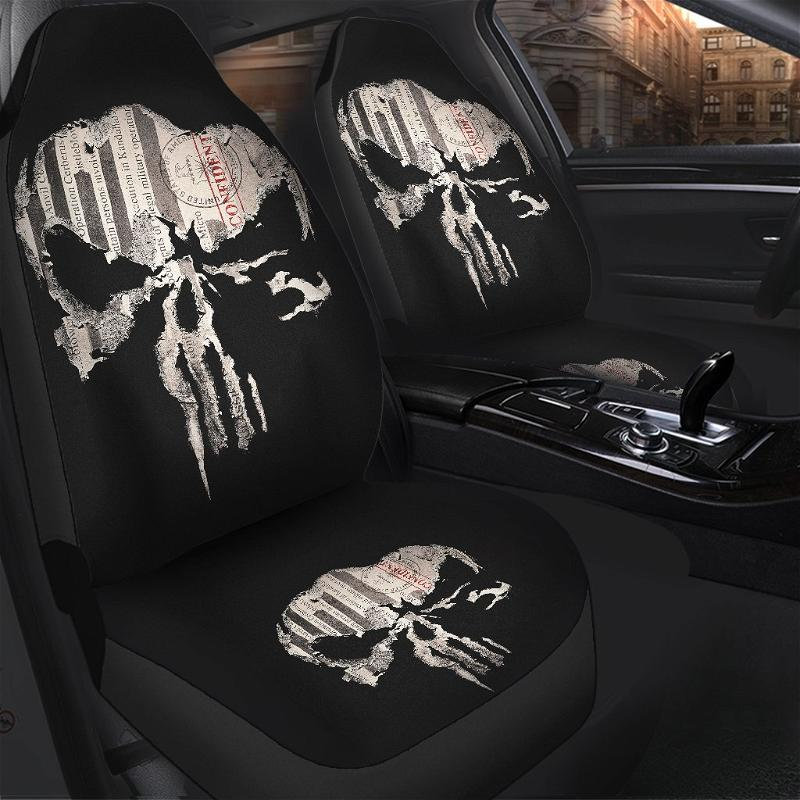 Punisher Car Seat Covers