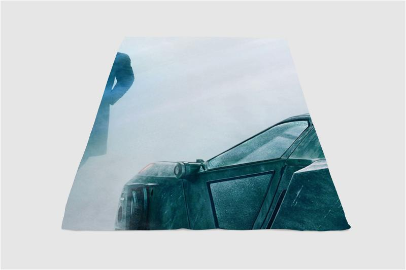 Replicant Car Blade Runner 2049 Fleece Blanket