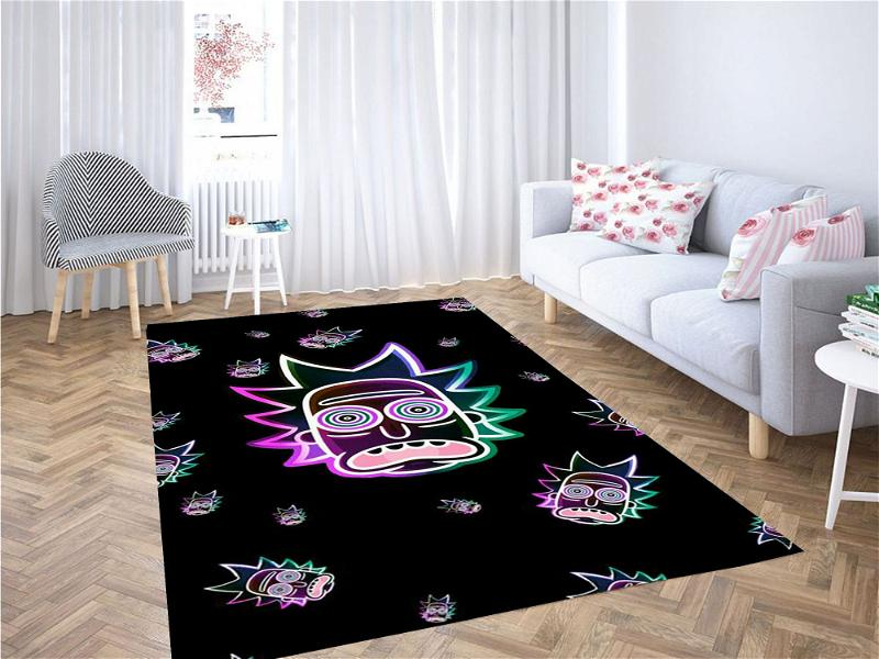 Rick And Morty Dope Carpet Rug