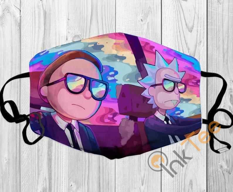 Rick And Morty Mashup Handmade Anti Droplet Filter Cotton Face Mask