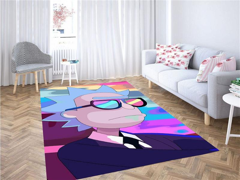 Rick And Morty Mejores Carpet Rug