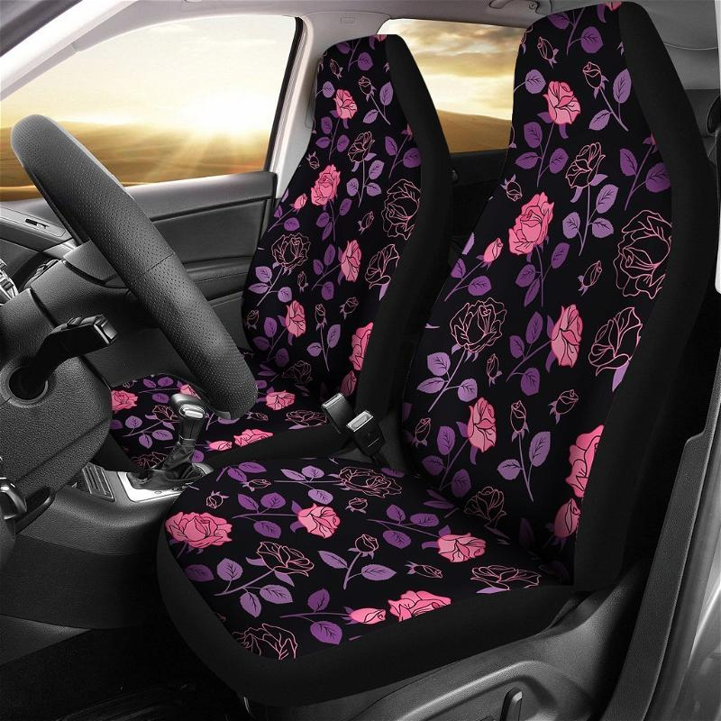 Rose Flower Car Seat Covers
