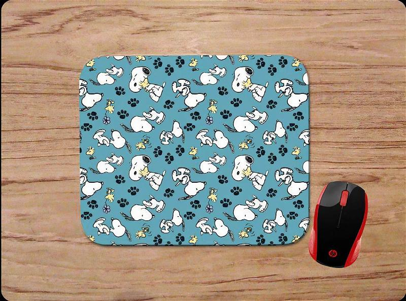 Snoopy & Woodstock Inspired Theme Supplies Friend Mouse Pads