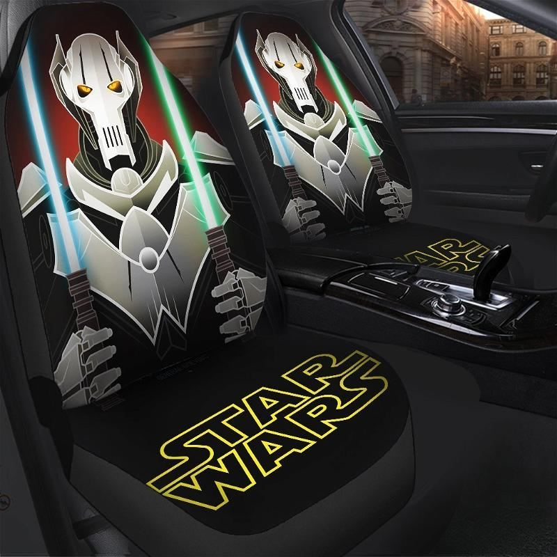 Star Wars General Grievous Car Seat Covers