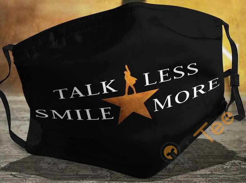 Talk Less Smile More Freddie Mercury Queen Band Handmade Washable Anti Droplet Filter Cotton Face Mask