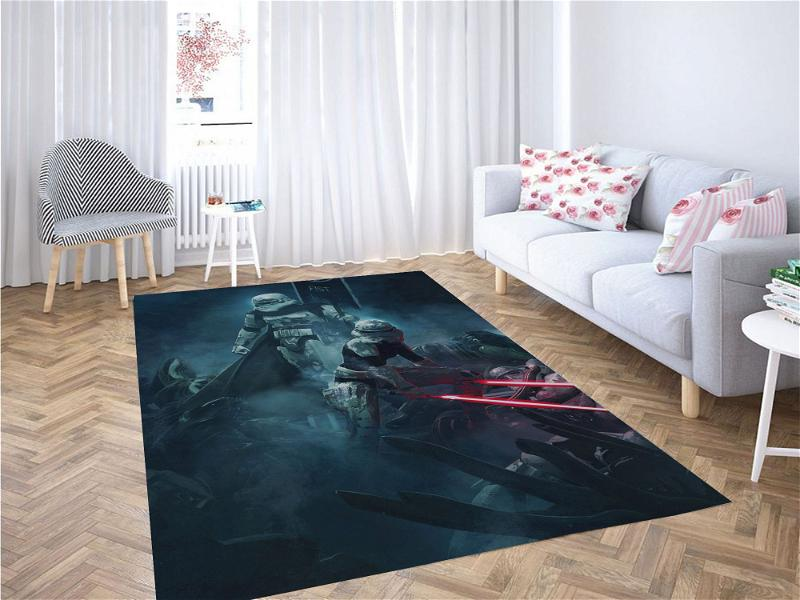 The First Imperial Order Star Wars Carpet Rug