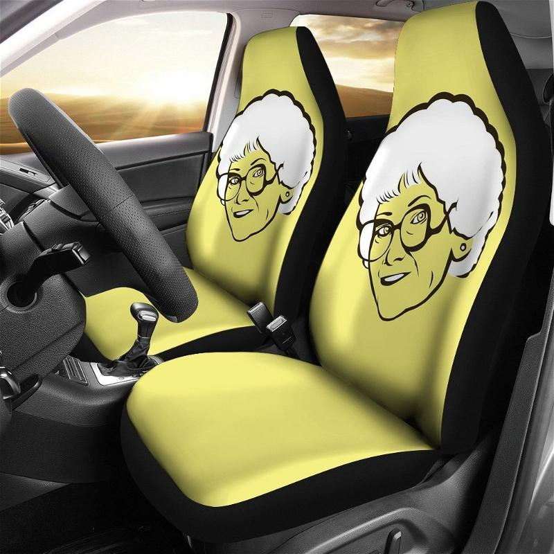 The Golden Girls Mama Wear Glasses Cover Car Seat Covers