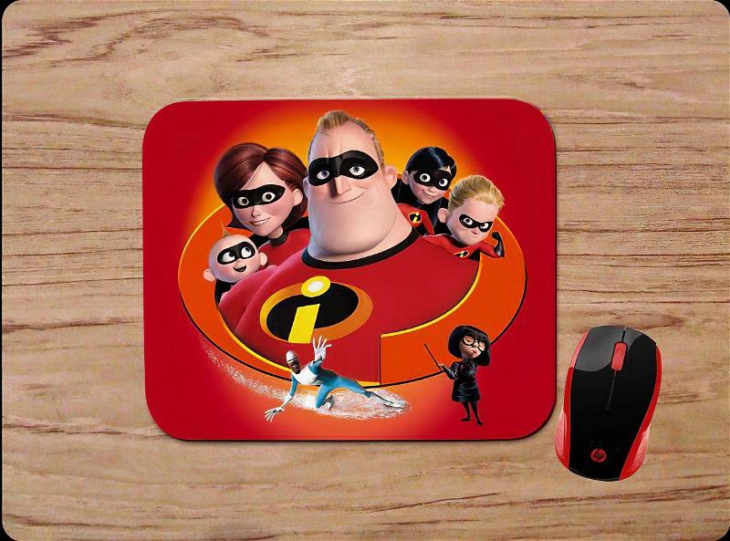 The Incredibles Characters Home Pc Gaming Office Mouse Pads