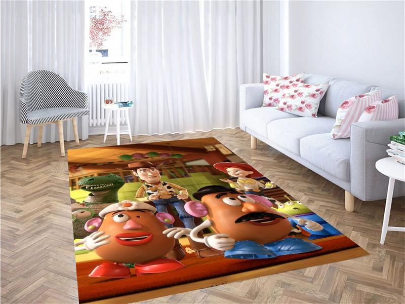 Toy Story Character Carpet Rug