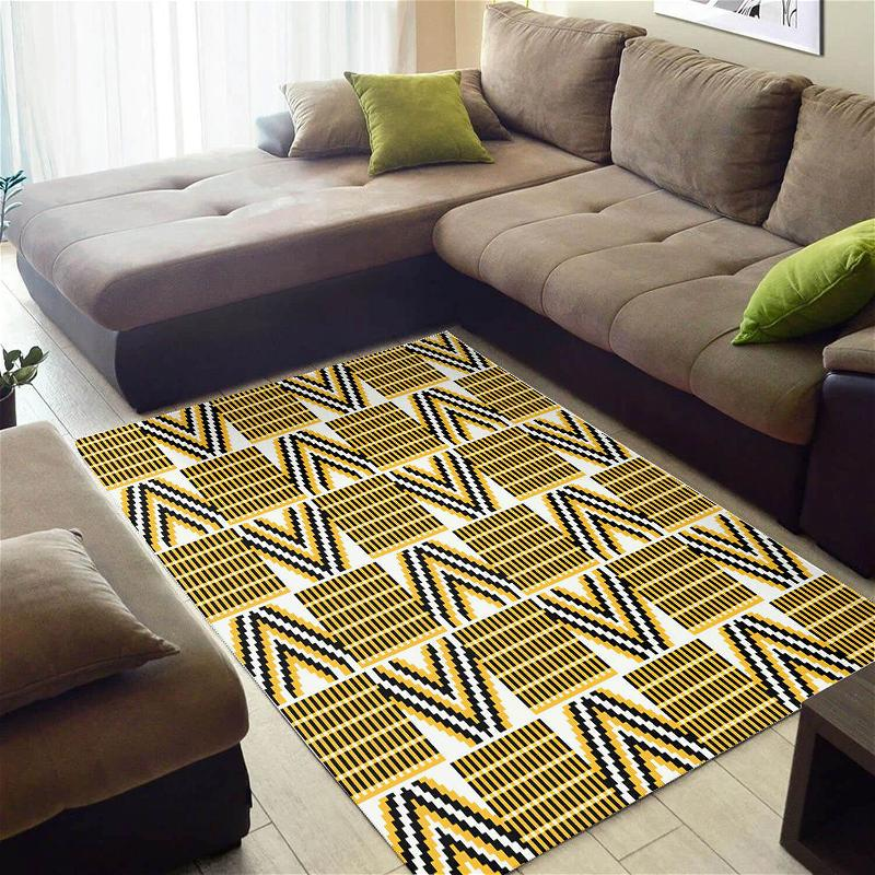Trendy African Style Attractive Seamless Pattern Large Carpet Inspired Home Rug