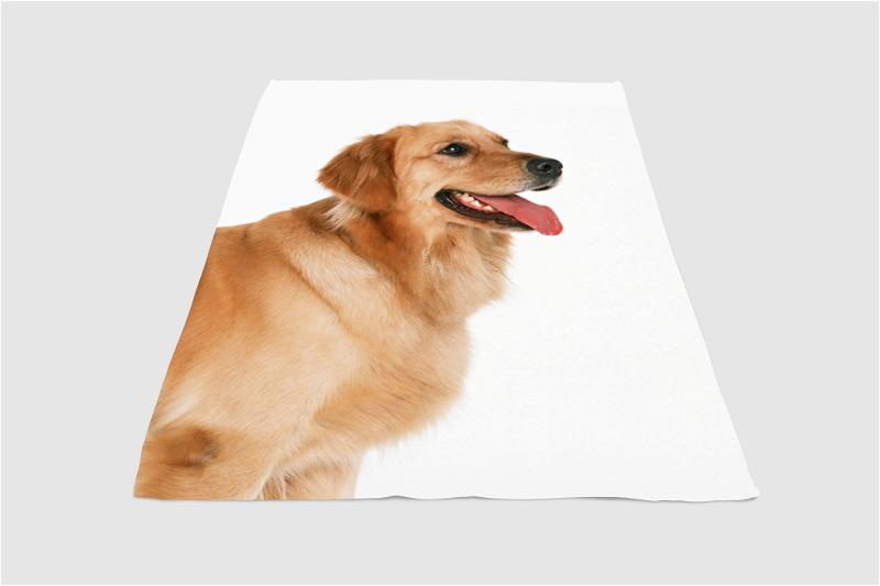 Very Soft Dog Fleece Blanket