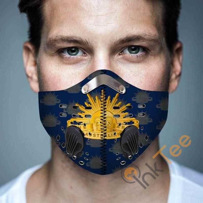 Aaustralian Army Filter Activated Carbon Pm 2.5 Fm Face Mask