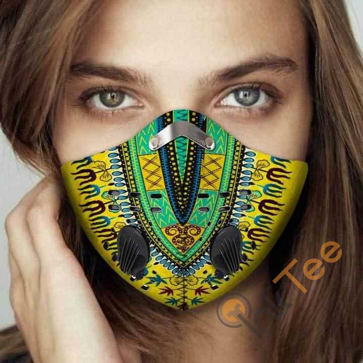 African Filter Activated Carbon Pm 2.5 Fm Face Mask