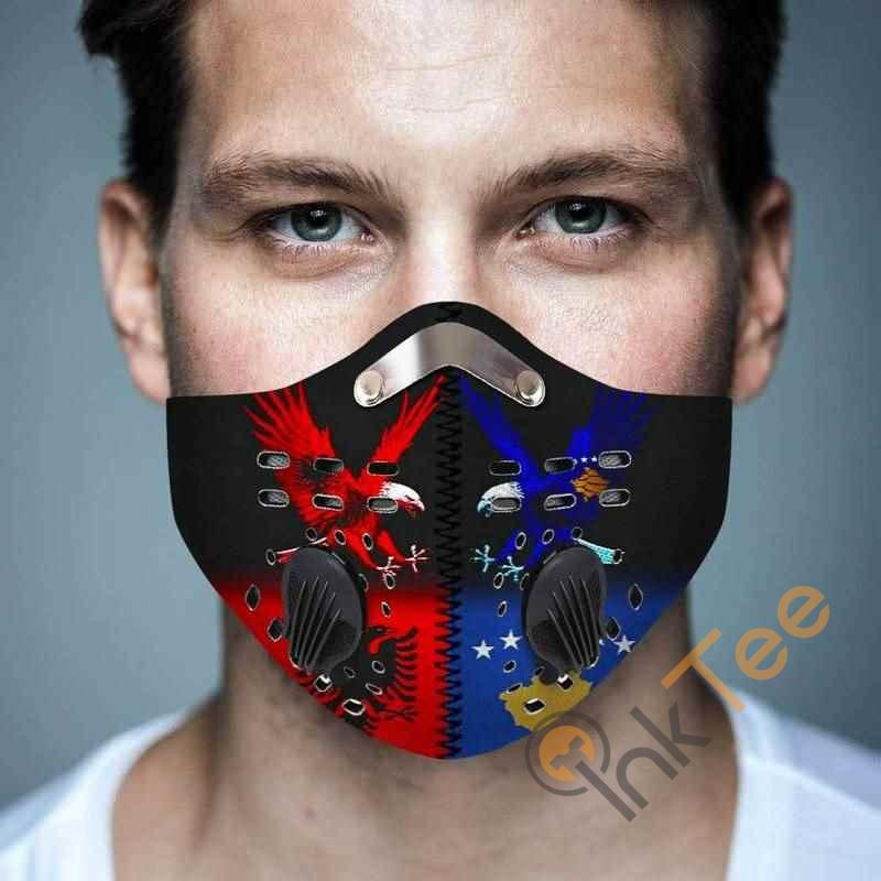 Albania And Kosovo Filter Activated Carbon Pm 2.5 Fm Face Mask