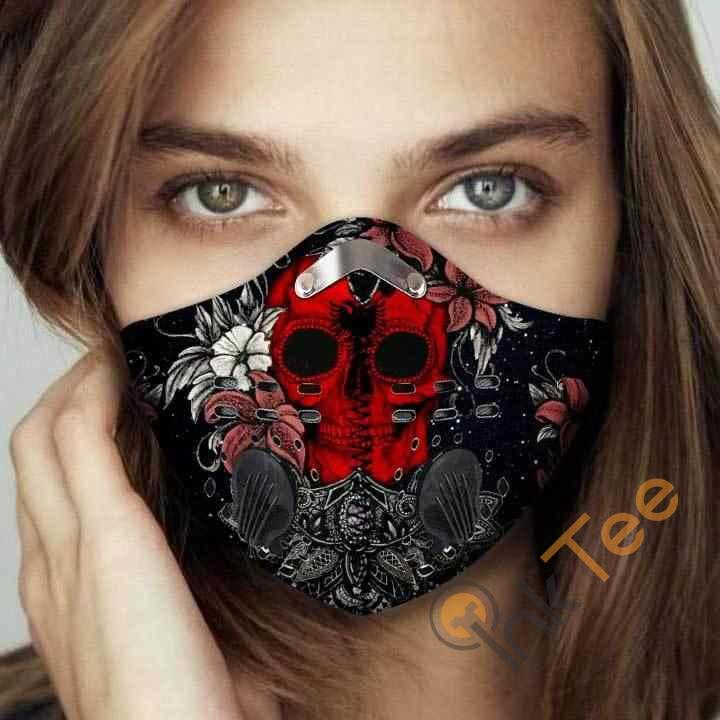 Albania Filter Activated Carbon Pm 2.5 Fm Face Mask