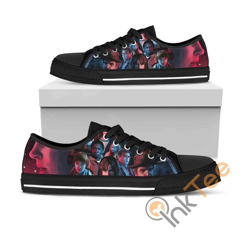 Stranger Things Ha09 Low Top Shoes