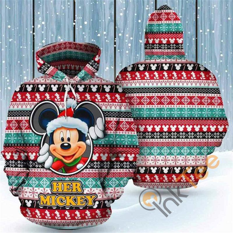 Her Mickey Mouse Hoodie 3d Women