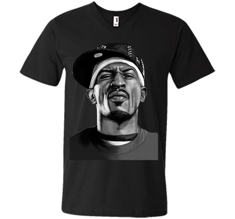 Rap Legend Is Coming To New Orleans V-neck T-shirt